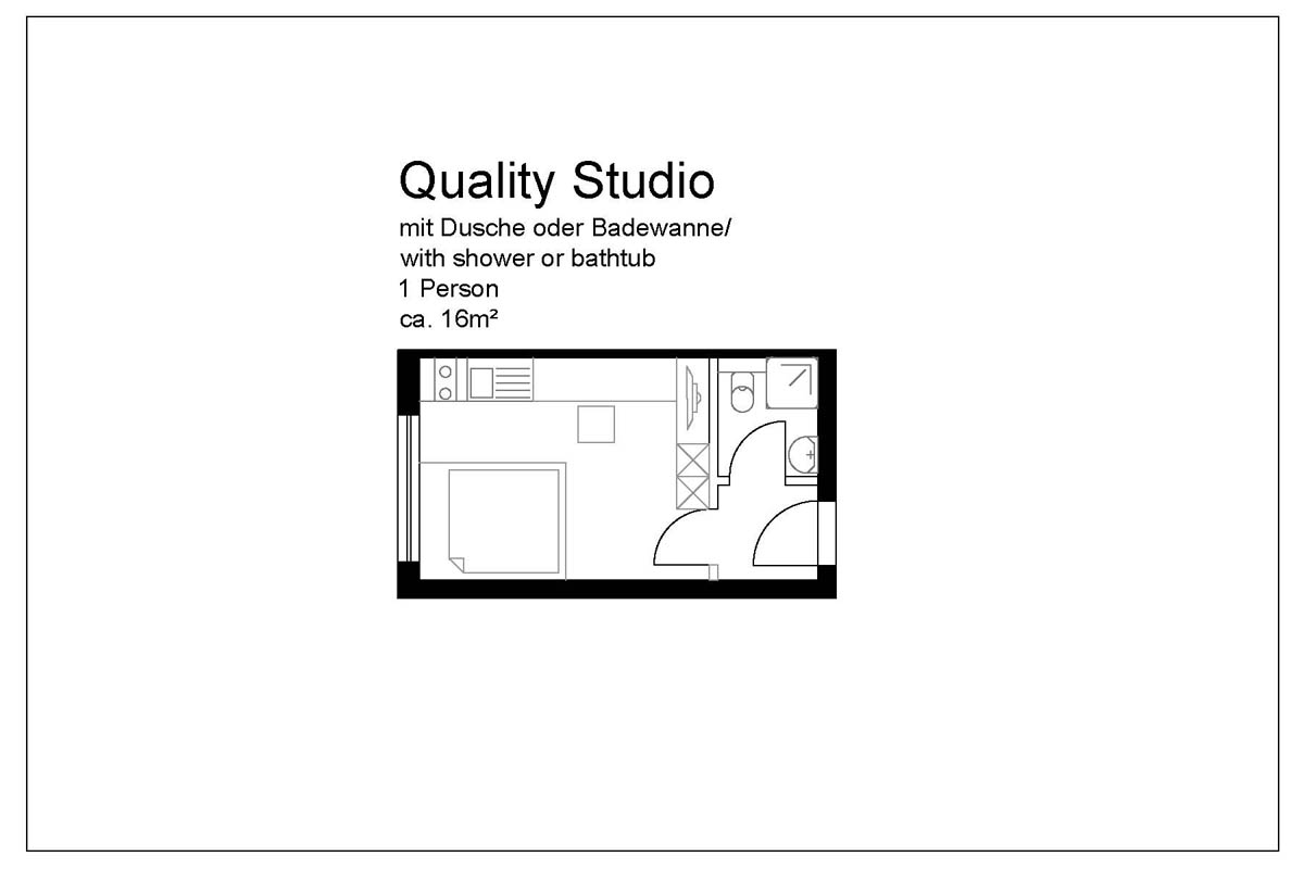 Quality Studio Apartment
